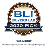 BLI Buyers Lab 2020 Pick for Ricoh